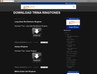 download-trina-ringtones.blogspot.com.br screenshot
