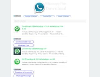 download-whatsapp-plus.com screenshot