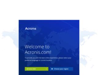 download.acronis.com screenshot