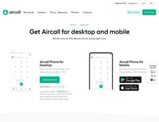 download.aircall.io screenshot