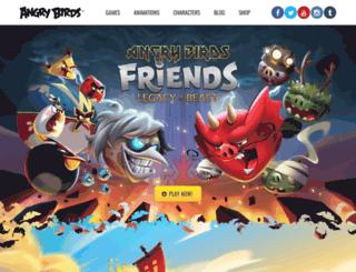 download.angrybirds.com screenshot