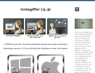 download.instagiffer.com screenshot
