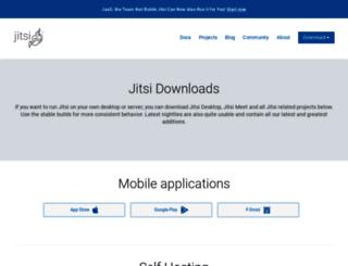 download.jitsi.org screenshot