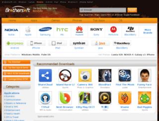 download.mobile.brothersoft.com screenshot