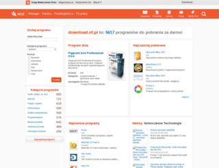download.nf.pl screenshot