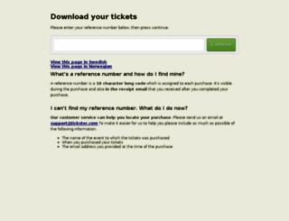 download.tickster.com screenshot