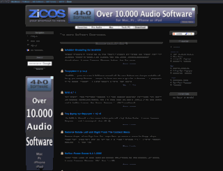 download.zicos.com screenshot