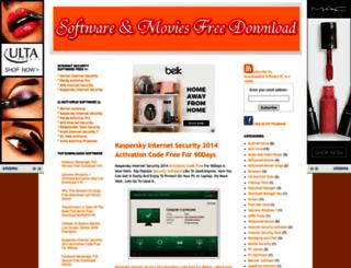 downloadablesoftwarepc.blogspot.com screenshot