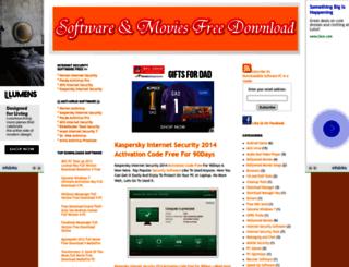 downloadablesoftwarepc.blogspot.in screenshot