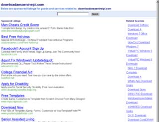 downloadaesaenineipi.com screenshot