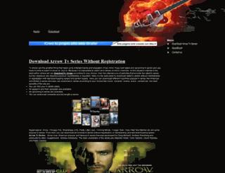downloadarrowtvseries.webpin.com screenshot