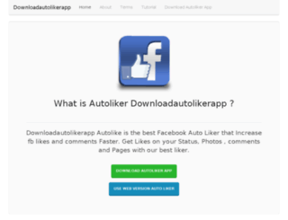 downloadautolikerapp.com screenshot