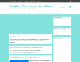 downloadchristianwallpapers.com screenshot