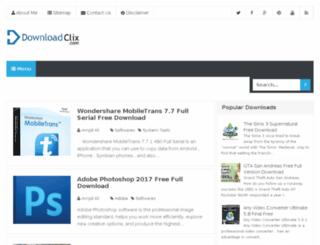 downloadclix.com screenshot
