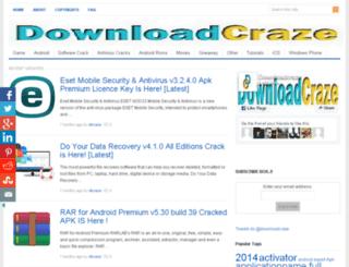 downloadcraze.com screenshot