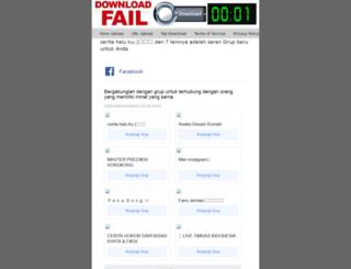 downloadfail.blogspot.com screenshot
