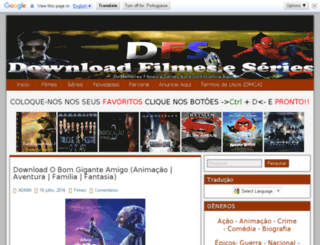 downloadfilmeseseries.com screenshot