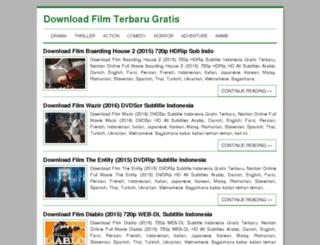 downloadfilmterbarugratis.net screenshot