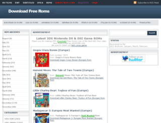 downloadfreeroms.kamranweb.com screenshot