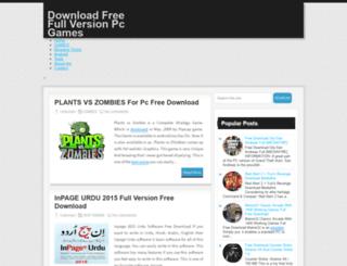downloadgame4pc.blogspot.com screenshot