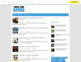 downloadgamesiso.blogspot.com screenshot