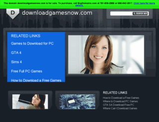 downloadgamesnow.com screenshot