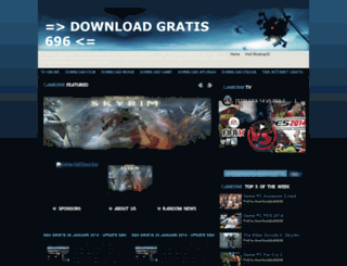 downloadgratis696.blogspot.com screenshot