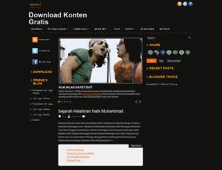 downloadkontengratis.blogspot.com screenshot