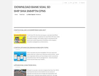 downloadlatihansoal.blogspot.co.id screenshot