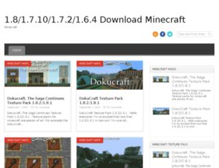 downloadminecraft.altervista.org screenshot
