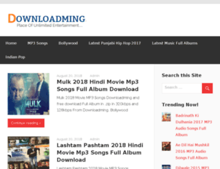 downloadming.ind.in screenshot