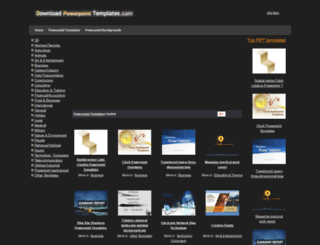 downloadpowerpointtemplates.com screenshot