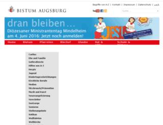 downloads.bistum-augsburg.de screenshot