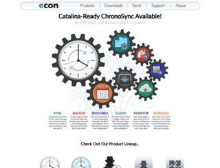 downloads.econtechnologies.com screenshot