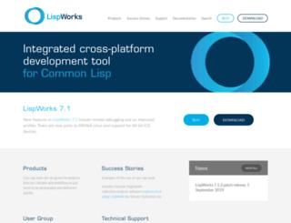 downloads.lispworks.com screenshot