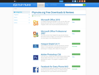 downloads.phpnuke.org screenshot