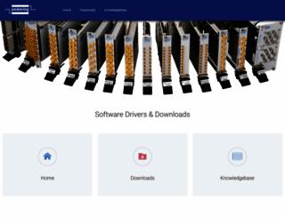 downloads.pickeringtest.info screenshot