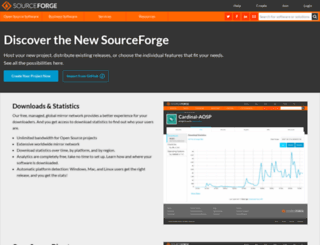 downloads.sourceforge.net screenshot