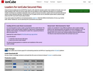 downloads3.ioncube.com screenshot