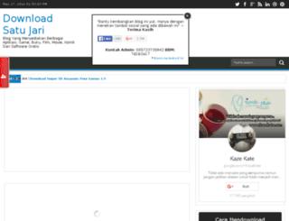 downloadsatujari.blogspot.com screenshot