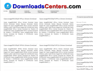 downloadscenters.com screenshot