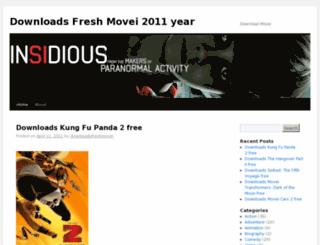 downloadsfreshmovei.wordpress.com screenshot