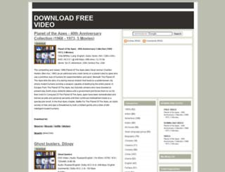 downloadvideofilm.blogspot.com screenshot
