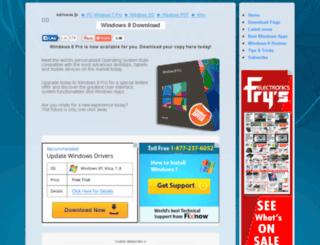 downloadwindows8pro.com screenshot