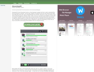 downloadxctrl.com screenshot