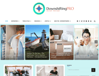 downshiftingpro.com screenshot