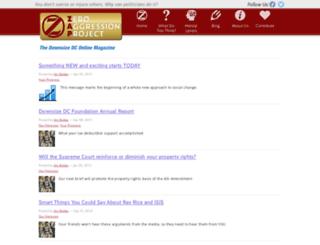 downsizedcfoundation.org screenshot