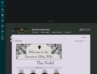 downtonabbey.wikia.com screenshot