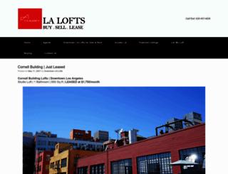 downtown.lalofts.me screenshot