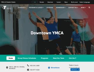 downtown.metroymca.org screenshot